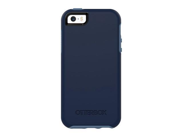 official photos 4f95b 72569 OtterBox SYMMETRY SERIES Case for iPhone 5/5s/SE - Frustration Free  Packaging - BLUEBERRY (ADMIRAL BLUE/DARK DEEP WATER BLUE) - Newegg.com