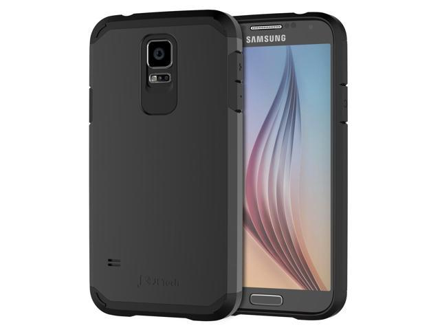 los angeles ff330 c9f67 JETech Case for Samsung Galaxy S5, Protective Cover, Black - Newegg.com