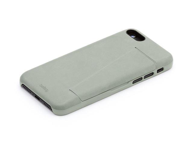 reputable site 7e273 8e6c2 Bellroy Leather iPhone 8 Plus / 7 Plus Phone Case - 3 Card Eucalyptus -  Newegg.com