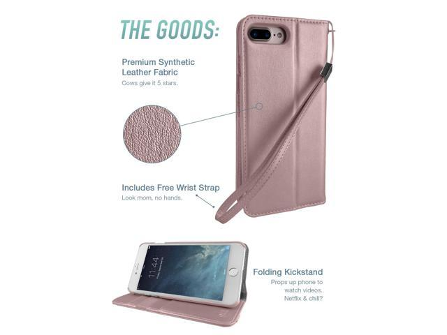 purchase cheap 21f26 aa7a1 Silk iPhone 8 Plus / 7 Plus Wallet Case - Keeper of The Things - Folio  Wallet Synthetic Leather Portfolio Flip Credit Card Cover with Kickstand -  ...