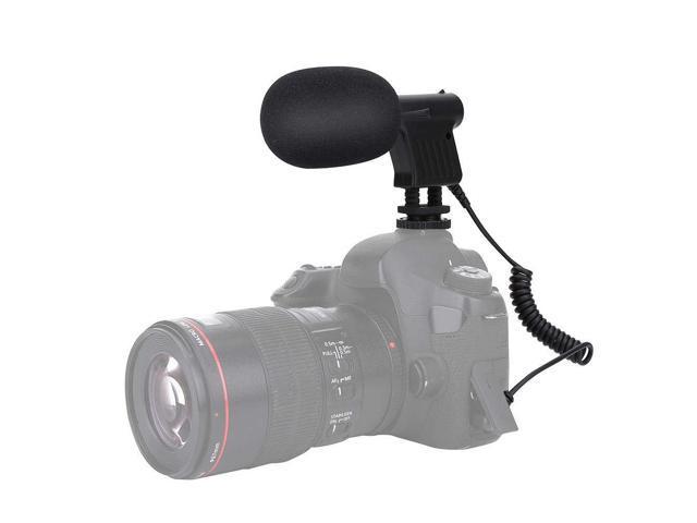 Super-Cardioid Condenser Camera DSLR Recording Microphone