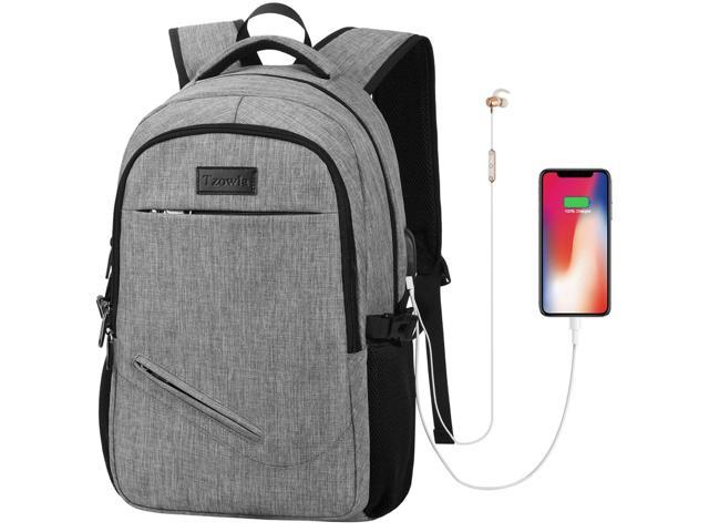 Men Women Backpack Water Resistant Anti-Theft College Backpack with USB Charging
