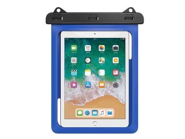 quality design 74eb6 ae1e3 MoKo Waterproof Tablet Case, Tablet Pouch Dry Bag for New iPad 9.7  2018/2017, iPad Pro 9.7, iPad Air 2, iPad 4/3/2, Samasung Tab S4/ S3/  S2/Tab A 9.7, ...