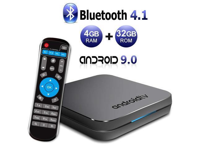 Sidiwen Android 9 0 TV Box KM9 4GB RAM 32GB ROM Amlogic S905X2 Quad Core  Bluetooth 4 1 Dual-Band WiFi 2 4G/5G Ethernet Internet Set Top Box with  Smart