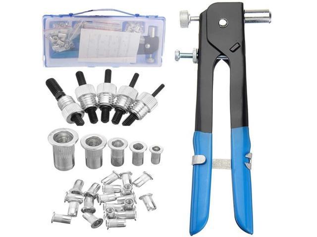 106Pcs M3-M8 Blind Rivet Nuts Threaded Insert And Rivet Tool Riveter With  Rivnut Nutsert Riveting Kit Tool - Newegg com
