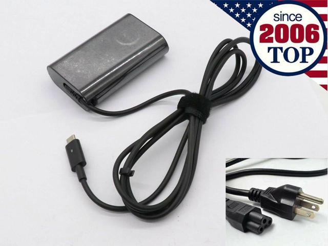 OEM Dell 45W Type-C USB-C Charger AC Adapter For XPS13 9365 LA45NM150 HDCY5