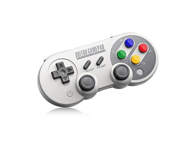 8Bitdo SF30 Pro Wireless Bluetooth Controller with Classic Joystick Gamepad for Android Nintendo Switch Windows macOS Steam