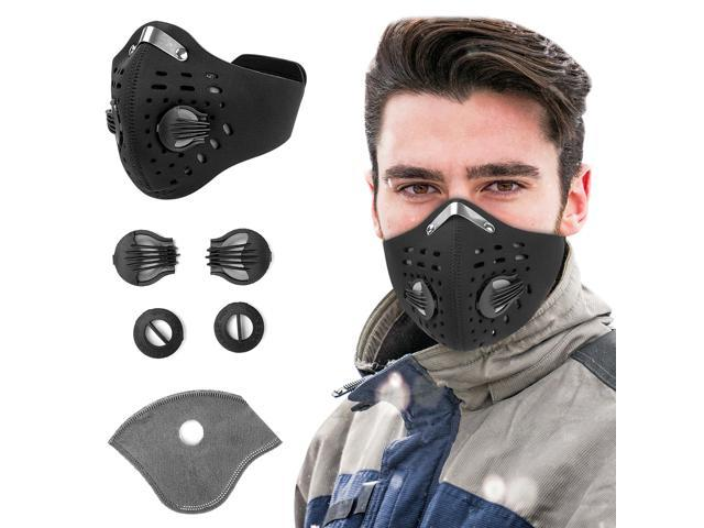 activated charcoal respirator mask