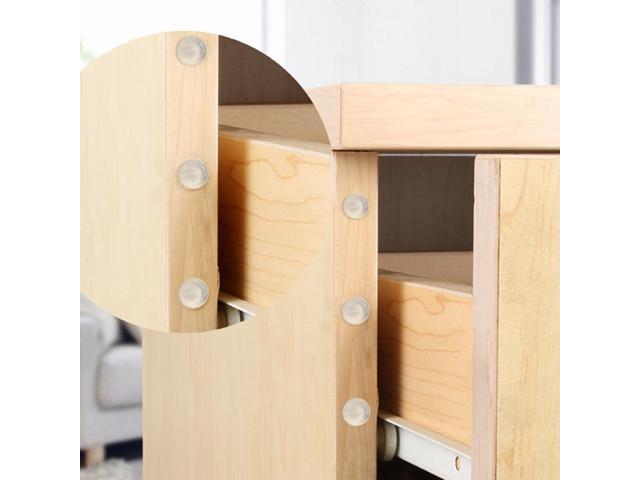 Rubber Bumper Silicone Buffer Pads Damper Self-adhesive Furniture Door Stopper