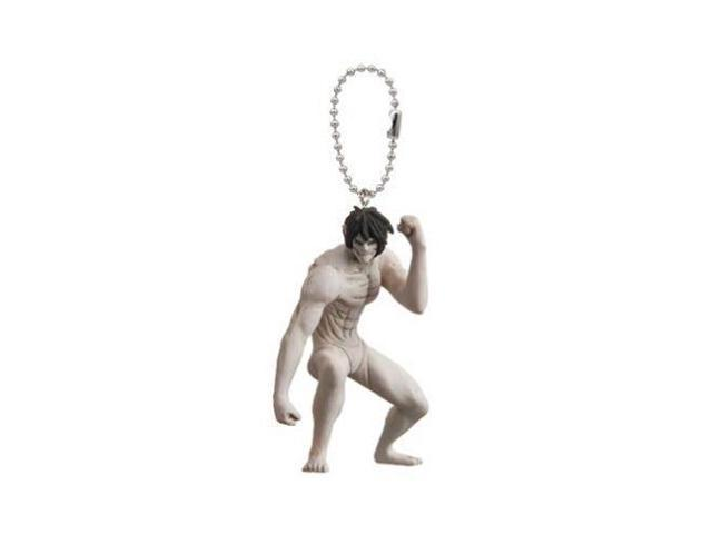 Attack On Titan Eren Yeager Titan Form Swing Keychain Figure Newegg Com