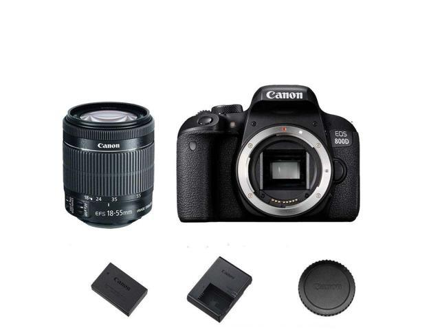 Canon T7i / 800D DSLR Camera Body w/ EF-S 18-55mm f/4-5.6 STM Lens