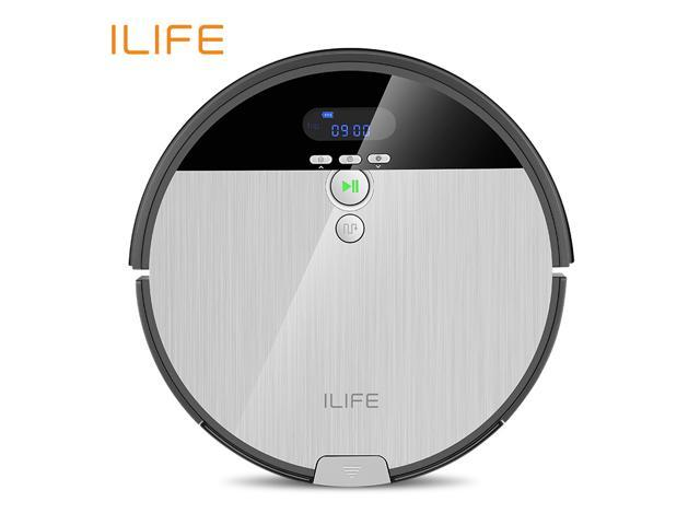ILIFE V8s Robot Vacuum Cleaner Sweep&Wet Mop Navigation Planned Cleaning  0 75L Dustbin Water Tank Adjustable Schedule Household - Newegg com
