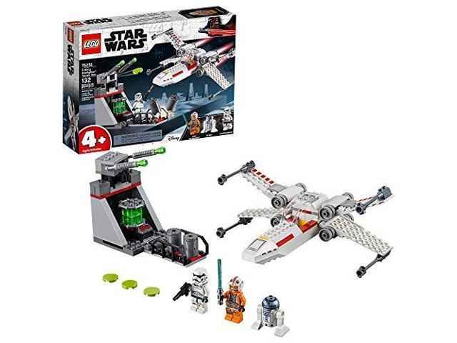 Lego Star Wars X Wing Starfighter Trench Run 75235 4 Building Kit New 2019 132 Pieces Newegg Com