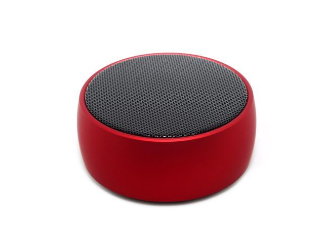 Newbeing Q8 Mini Bluetooth Speaker Bluetooth Speaker With 9 Hour Playtime 39 Foot Bluetooth Range Dual Driver Portable Wireless Speaker With Low Harmonic Distortion And Superior Sound Red Newegg Com