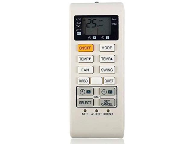 New air Conditioner Remote Control for Panasonic air Conditioning A75C3680  contorller - Newegg com