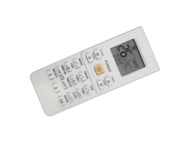 Replacement Remote Control for Samsung AS070VE AS070VE0K/ANA AS070VE0K/GSP  AS071VE AS071VE0K/XFO AS07A2VA AS07A2VA/KCV AM24A1E12 Room AC Air