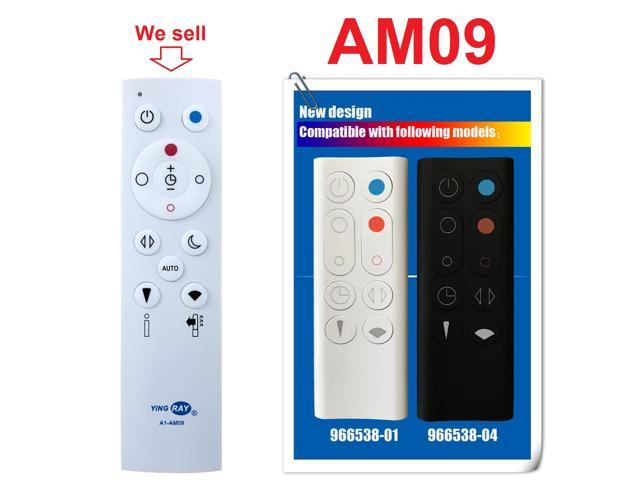 (A1-AM09) Replacement DYSON Fan Heater Remote Control 966538-01 966538-04  for DYSON Hot+Cool Jet Focus AM09 - Newegg com