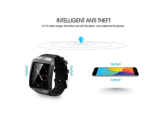 Q18 smart watch mobile phone Bluetooth card smart wear fashion watch gift -  Newegg com