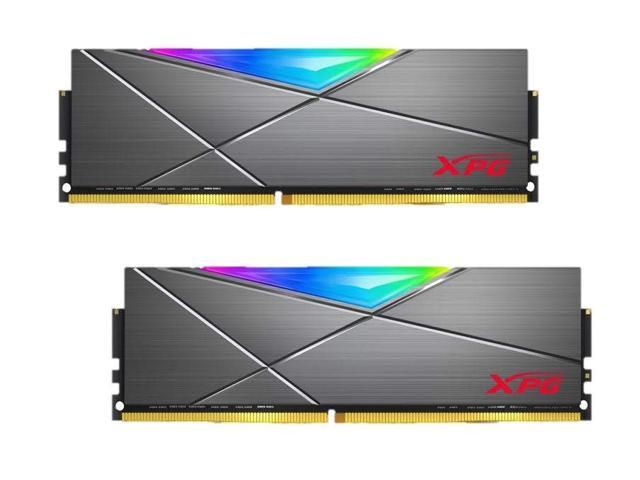 XPG SPECTRIX DT50 RGB Desktop Memory: 32GB (2x16GB) DDR4 3200MHz - Sale: $129.99 USD (43% off)