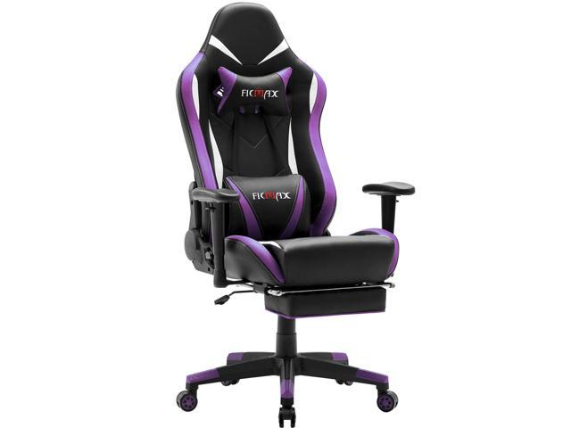 Miraculous Ficmax Massage Gaming Chair Ergonomic Gamer Chair With Footrest Reclining Game Chair With Armrest High Back Leather Pc Gaming Chair Plus Size Racing Evergreenethics Interior Chair Design Evergreenethicsorg