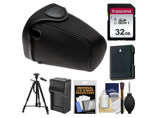 Nikon CF-DC2 Holster DSLR Camera Case +Tripod + 32GB for D3400 D3500 D5500  D5600 - Newegg com