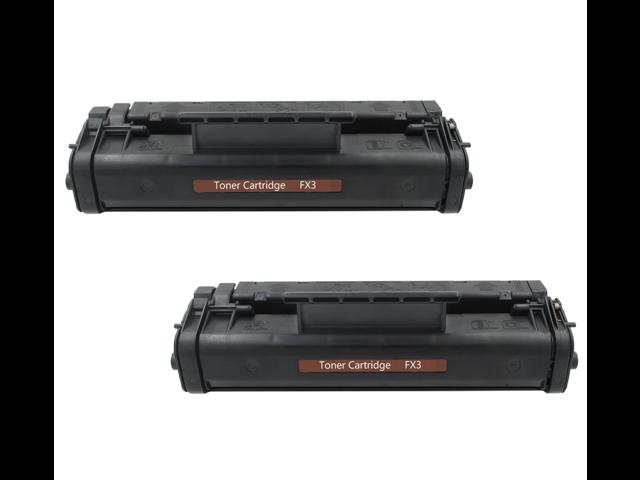2 Pack FX-3 FX3 Toner Cartridge For Canon LaserClass 6000L 4500 FaxPhone  L75 L80 - Newegg com