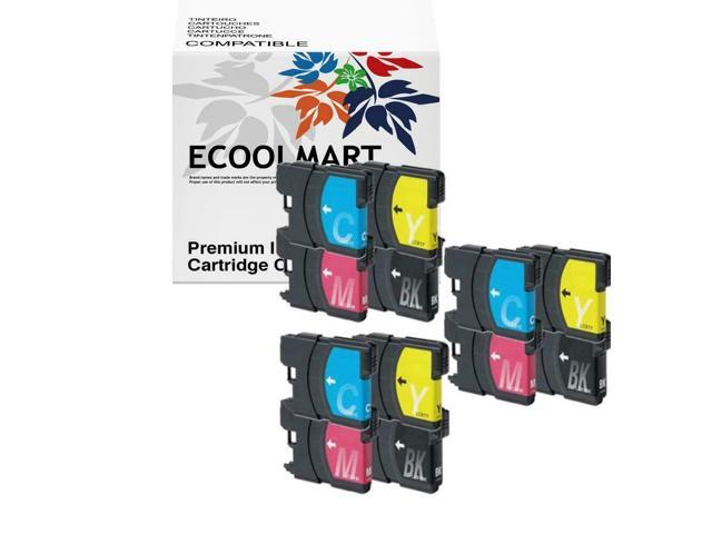 5 pack LC61 ink set fits Brother MFC-6490CW MFC-290C MFC-5890CN Printer