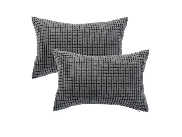 Throw Pillow Case Square Corn Striped Cushion Cover 20/'/' 24/'/' Home Decor