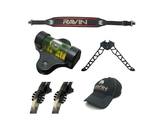 Ravin Crossbows Precision Kit: TacHead Bipod, Scope Bubble Level and  Accessories - Newegg com