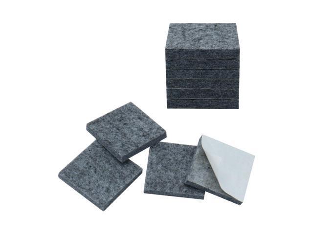 Felt Furniture Pads Square 1 3 4 Self Adhesive Anti Scratch Floor