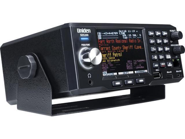Uniden SDS200 True I/Q TrunkTracker X Base/Mobile Digital Police Scanner  P25 DMR - Newegg com