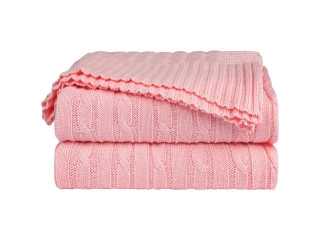 Astounding Cotton Cable Knit Throw Blanket Super Soft Throw Couch Covers Knitted Blankets For Sofa Bed Dark Pink Throw 47 X 70 Forskolin Free Trial Chair Design Images Forskolin Free Trialorg