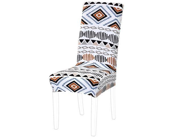 Dining Chair Cover,Stretch Bar Stool Slipcover Kitchen Chair Protector  Spandex Pattern Chair Seat Cover for Home Decorative/Dining  Room/Party/Wedding ...