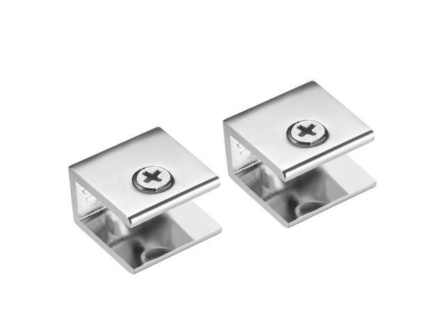 Glass Shelf Brackets Adjustable Zinc Alloy Glass Clamp Holder