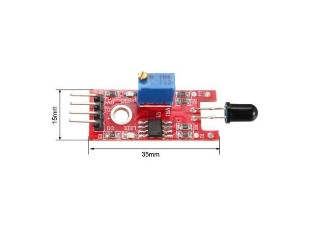 KY-026 Flame Sensor Module IR Sensor Detector Temperature