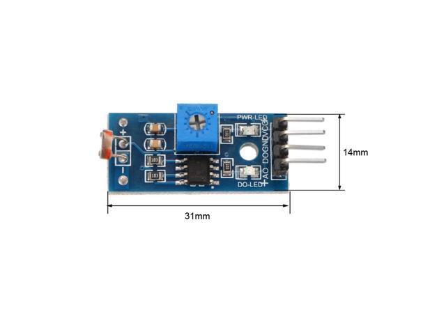 5PCS Digital Light Intensity Sensor Module Photo Resistor for Arduino Raspberry