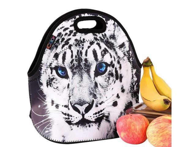 iColor Cute Cheetah Insulated Lunch Tote Bag Cooler Box Neoprene lunchbox  Carrying baby bag School/Office Handbag Soft Case HOT - Newegg com