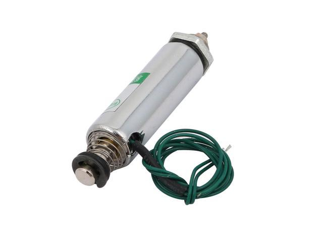 HCN3-1039 DC 12V 400mA 10mm 25N Push Pull Type DIY DC Solenoid Electromagnet
