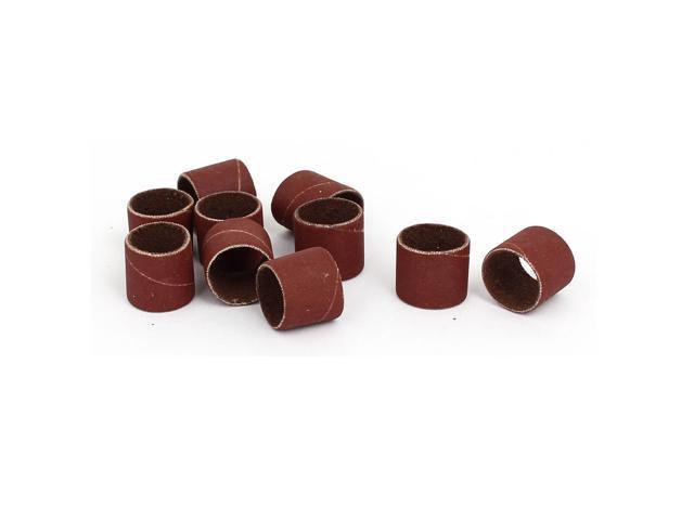 1//2 inch x 1//2 inch Sanding sleeves 80 grains Sandpaper Belt drums 5 pieces