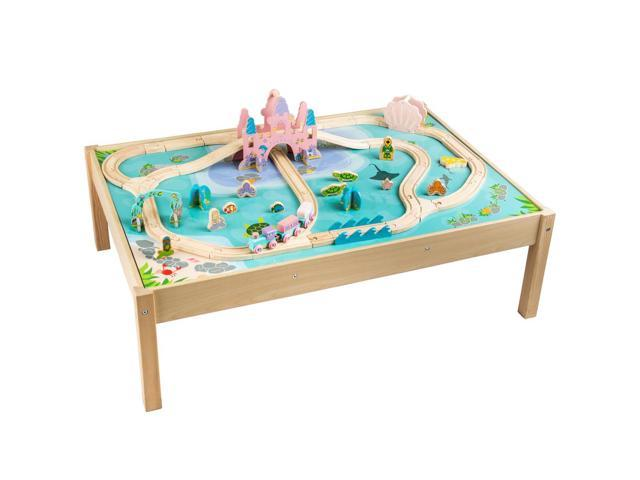 Super Mermaid Train Set And Table Newegg Com Interior Design Ideas Apansoteloinfo