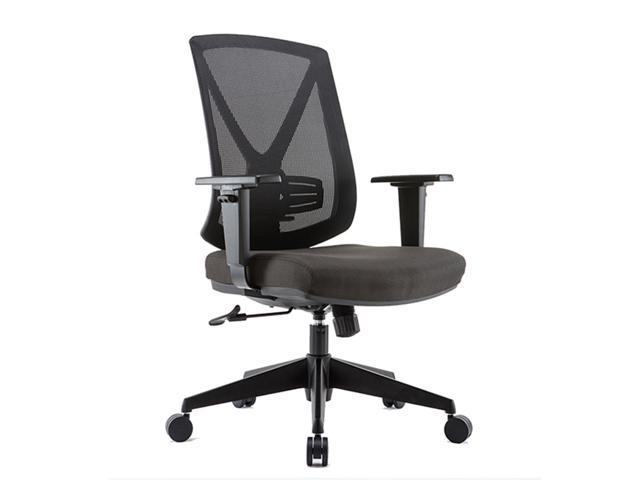 Clatina Xdd3 Series Ergonomic High Mesh Swivel Desk Chair With Adjustable Height Arm Rest Lumbar Support And Upholstered Back For Home Office Newegg Com