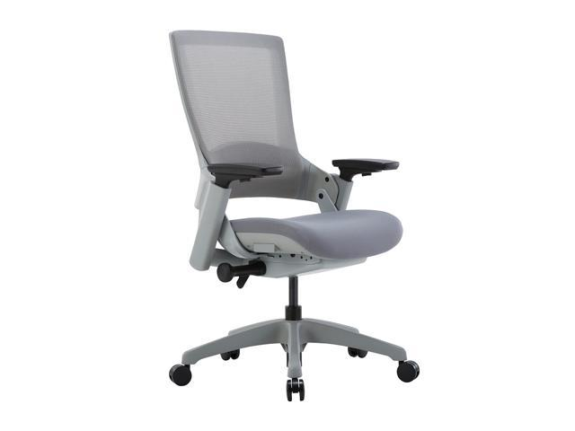 CLATINA 247 Series High Back Ergonomic Office Desk Chairs and Mesh  Executive Chairs with Back Support, Grey - Newegg com