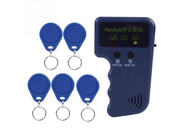 Portable Handheld Writer Copier Duplicator for 125KHz RFID ID Card with 5  Tags - Newegg com