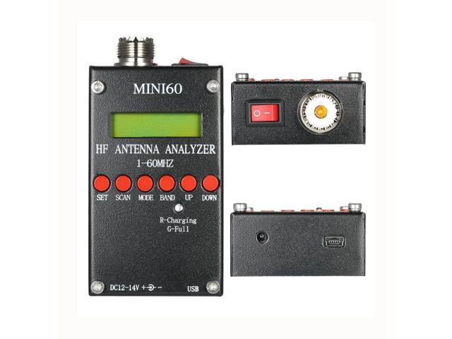MINI60S USB High Precision bluetooth Android HF ANT SWR Analyzer 1-60MHz  Antenna Meter For Ham Radio C4-006 - Newegg com