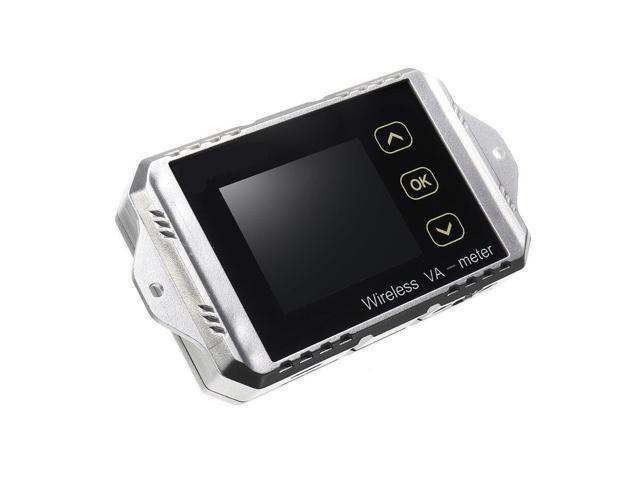Wireless DC Voltmeter Current Tester Watt Measurement Digital Display  Electric Garage Meter With Temperature Sensor VAT1100 - Newegg com