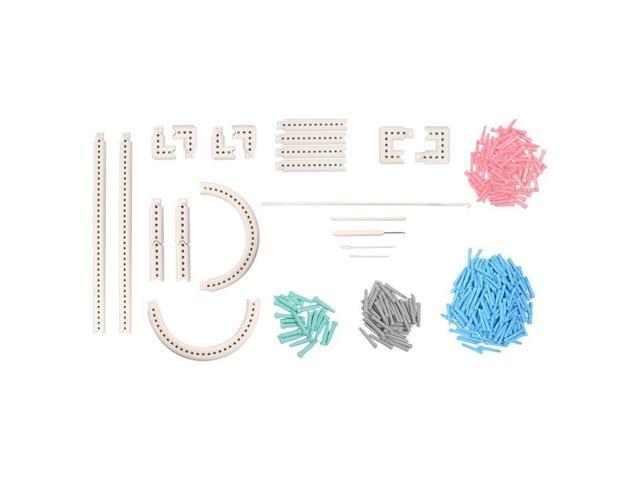Multi Function Craft Yarn 5000 100 Knitting Board Knit Weave Loom Kit Diy Tool Newegg Com