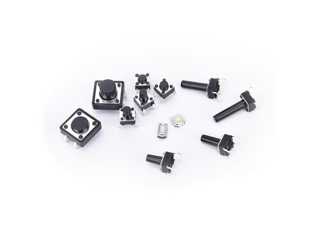 14types Details about 140pcs Momentary Tact Tactile Push Button Switch SMD  Assortment Kit Set Life 100000 times Promotion Price - Newegg com