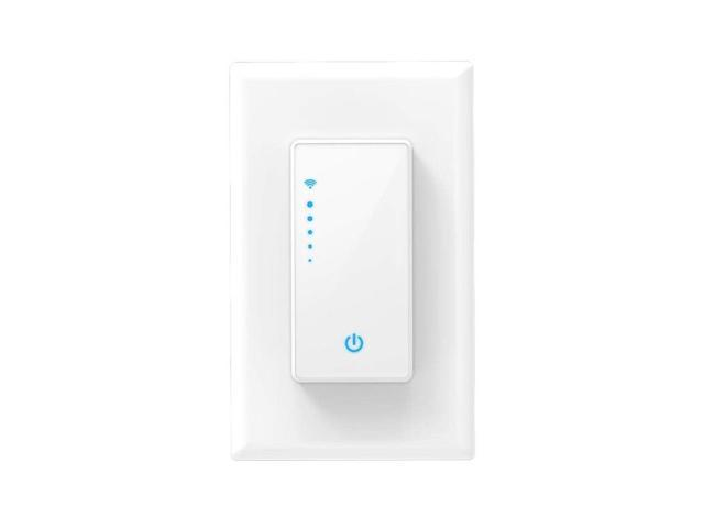 Smart Dimmer Switch, Light Switch Compatible With Alexa, Google Home  Assistant [Voice/Remote/Press Control] [Timer Function] Us - Newegg com