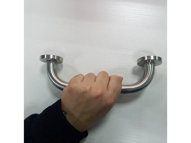 Stainless Steel Shower Grip Handle Bathroom Aid Support Hand Grab Towel Holder