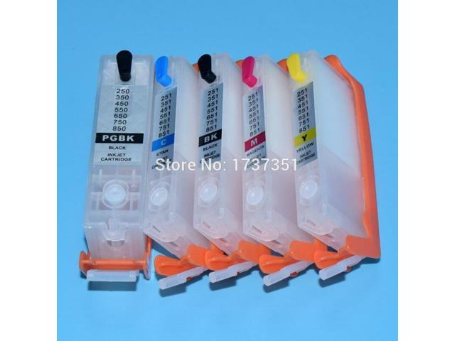 Refillable Ink Cartridge for Can0n Pgi-370 Cli-371 Pgi 370 Cli 371 Printer Cartridge Chip for Can0n Pixma Mg5730 Use for Japan Printer Spare Parts